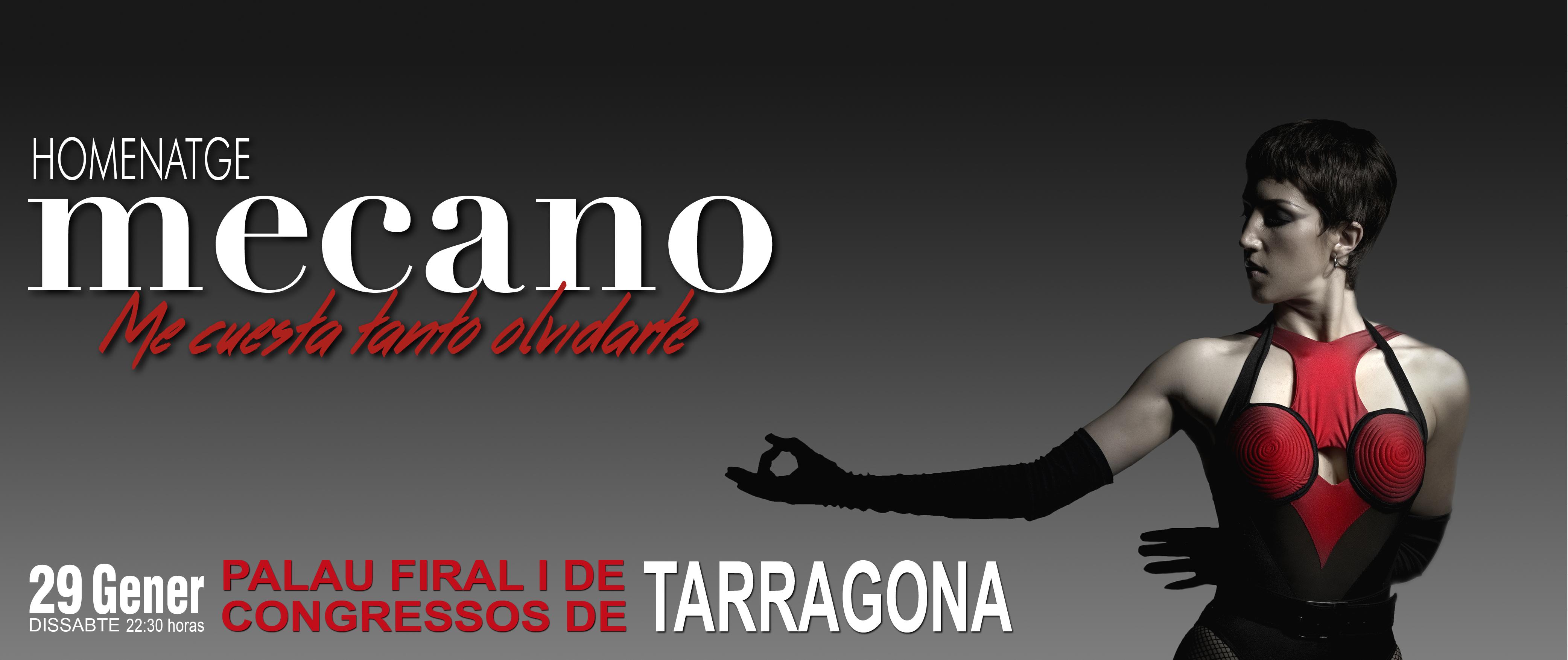Homenaje Mecano Tarragona